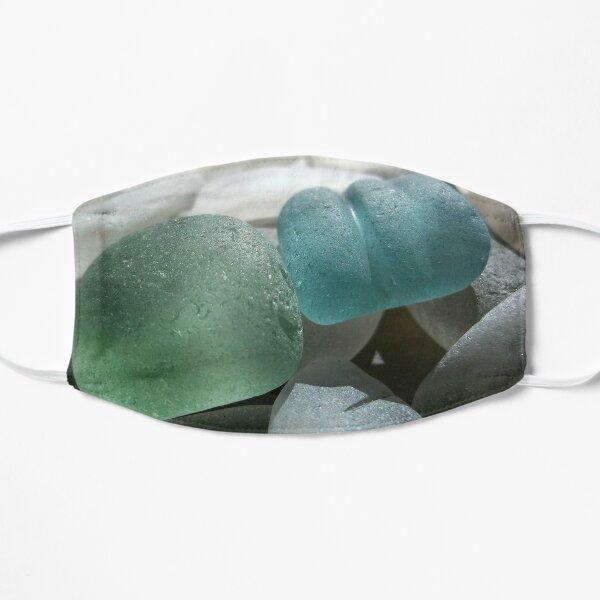 Sea Foam Green and Turquoise Sea Glass Mask