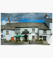 Hawkshead..The Kings Arms Poster