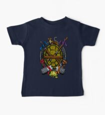 Turtle Family Crest - Full Color Baby Tee