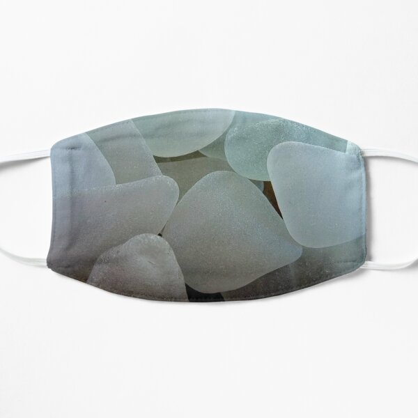 Shades of White Sea Glass Mask