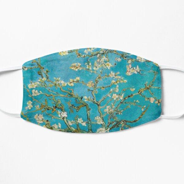 almond blossoms Flat Mask