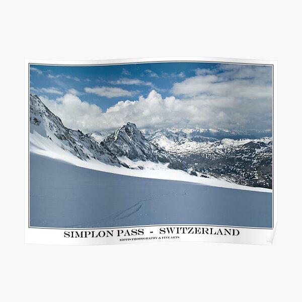 simplon pass Poster
