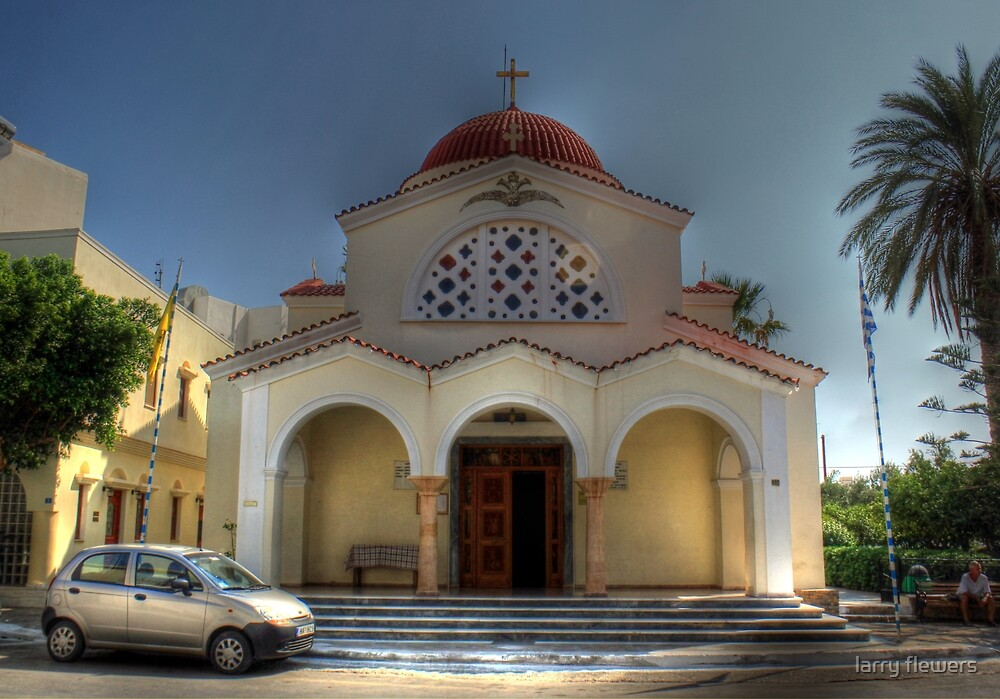 Church of Constandinos and Eleni  by larry flewers