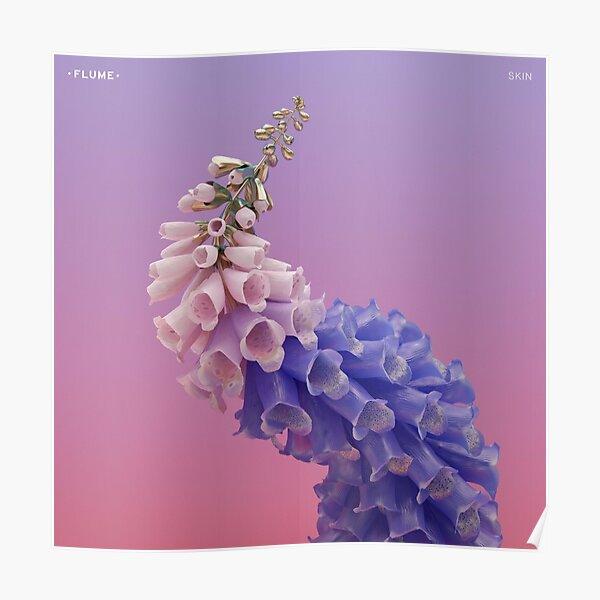 Flume Skin flower  Poster