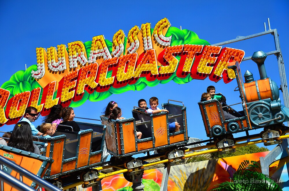 Carnival Ride by Loreto Bautista Jr.