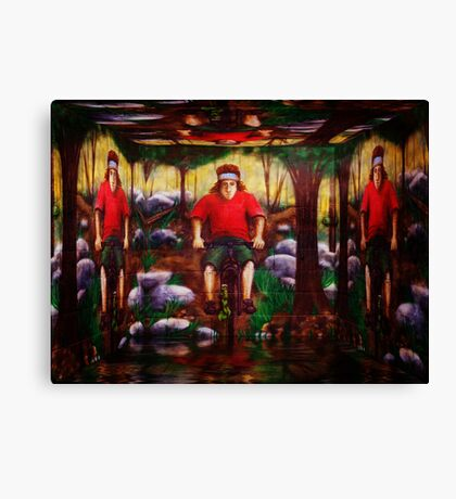 Supporting the Spirit Canvas Print