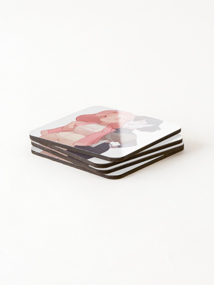 Alternate view of Bubbline Sapphic Coasters (Set of 4)