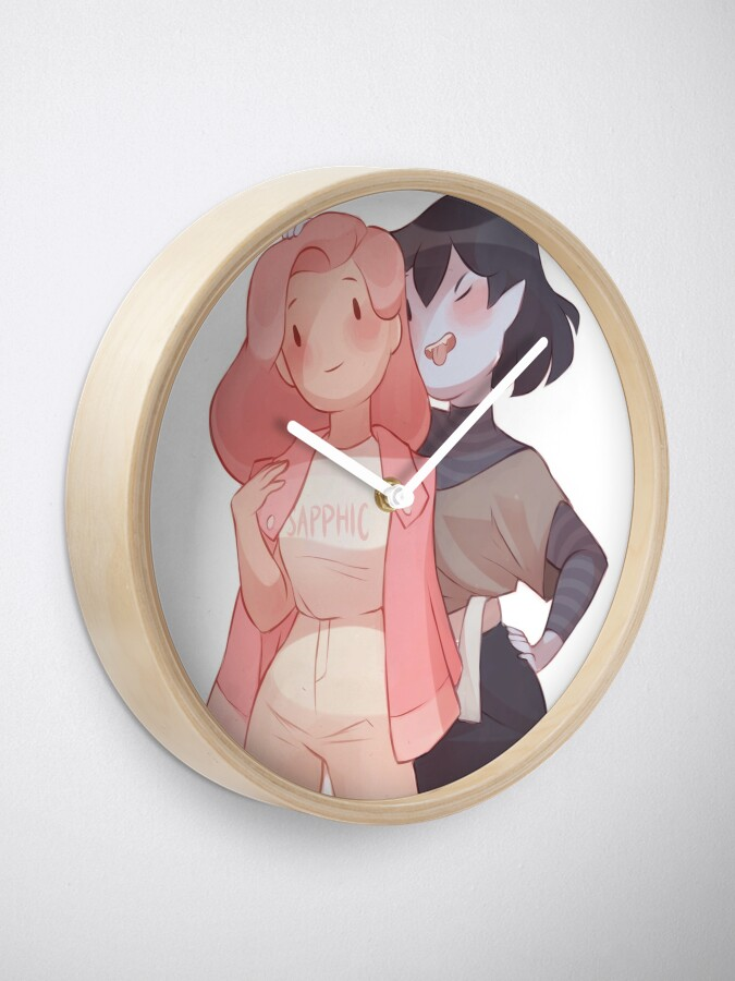 Alternate view of Bubbline Sapphic Clock