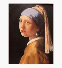 After Vermeer Photographic Print