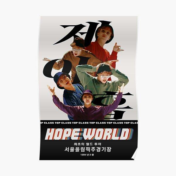 Póster de la gira HOPE WORLD [BASELINE] Póster
