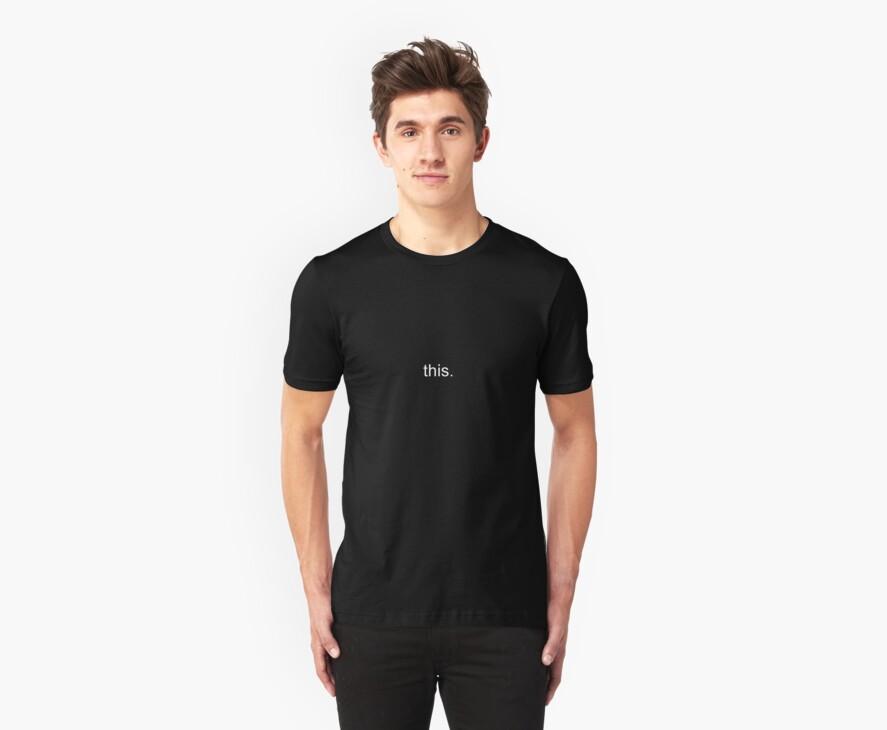 this. teeshirt by kalitarios
