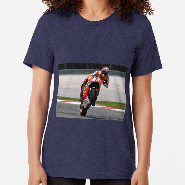 Marc Márquez 008 Camiseta de tejido mixto