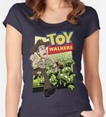 Toy Walkers (color) Women's Fitted Scoop T-Shirt