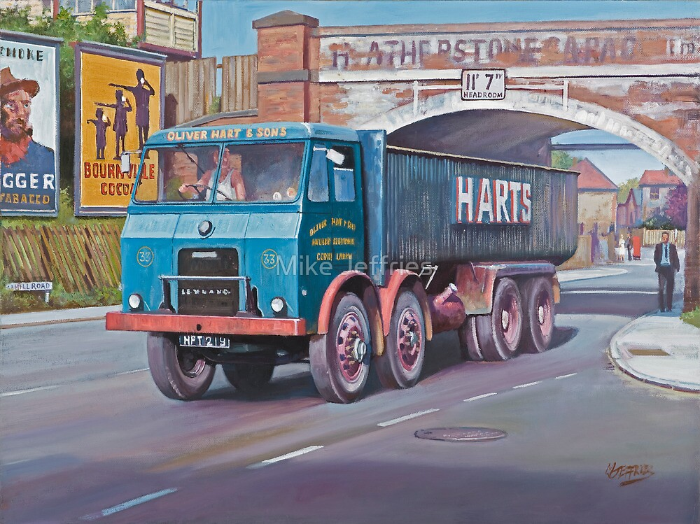Leyland Hippo hybrid. by Mike Jeffries