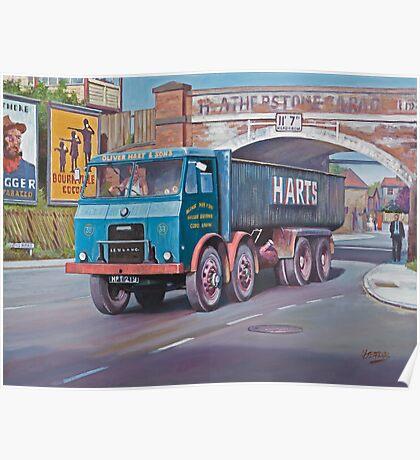 Leyland Hippo hybrid. Poster