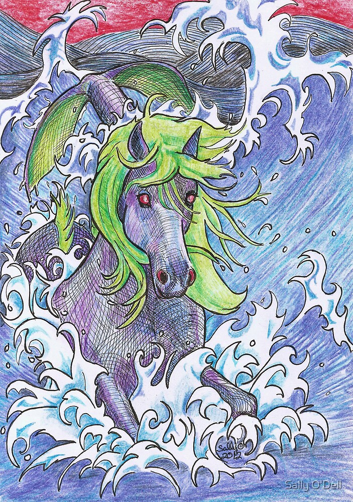 Hippocamp by Sally O'Dell