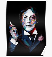 Portrait of OSCAR WILDE Poster