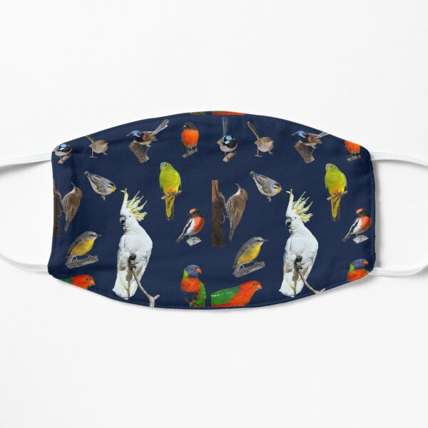 Australian Woodland Birds 5 Mask
