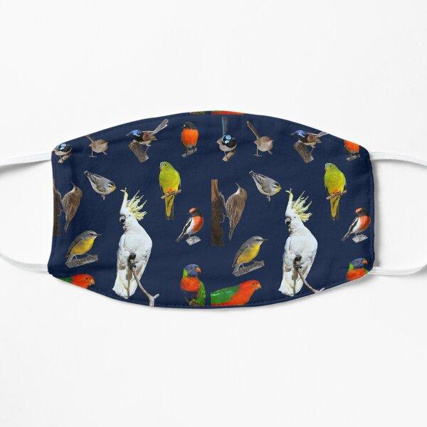 Australian Woodland Birds 5 Flat Mask