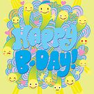 Happy Smiley-faced Birthday! by jillhowarth