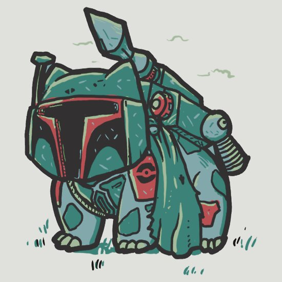 TShirtGifter presents: Bulba Fett