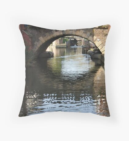 Newbury Bridge Throw Pillow
