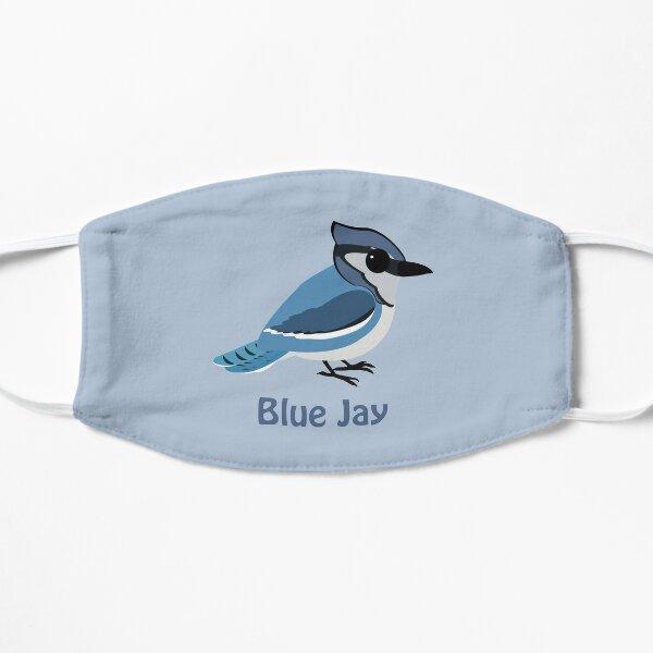 Baby Blue Jay Flat Mask