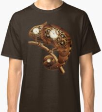 Steampunk Chameleon Vintage Style Classic T-Shirt
