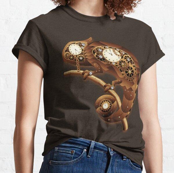 Steampunk Chameleon Vintage Style Classic T-Shirt