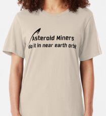 Asteroid Miners Slim Fit T-Shirt