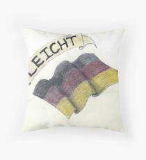 Leicht & Germany Flag Throw Pillow