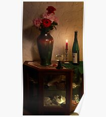 German Wine and Roses Poster