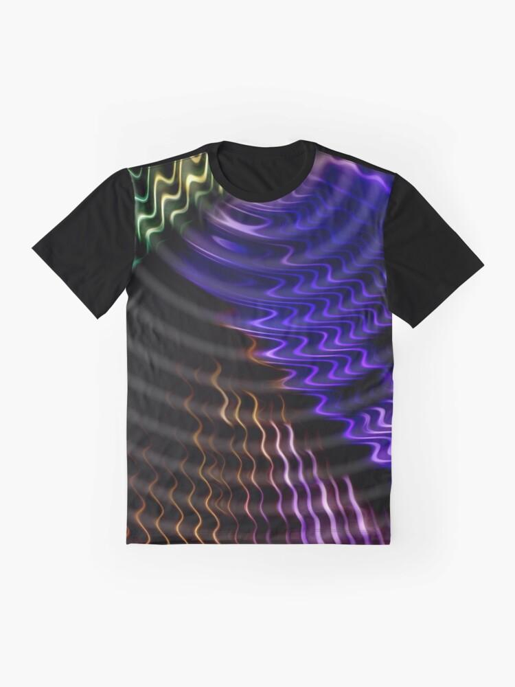 Alternative Ansicht von Jaybird Waves ~ Motion Grafik T-Shirt