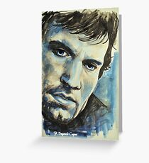 Henry Cavill-Thésée, featured in Shameless Self-promotion, Painters Universe Greeting Card