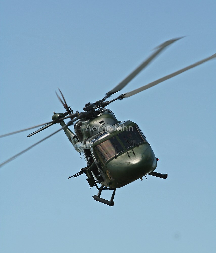 Lynx Helicopter by AeronJohn