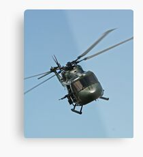 Lynx Helicopter Metal Print