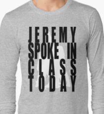 1e78c1b1 Jeremy in Class Long Sleeve T-Shirt