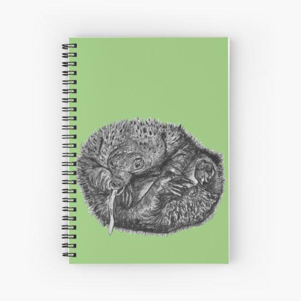 Elizabeth the Baby Echidna Spiral Notebook