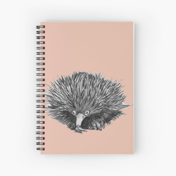 Spike the Echidna Spiral Notebook