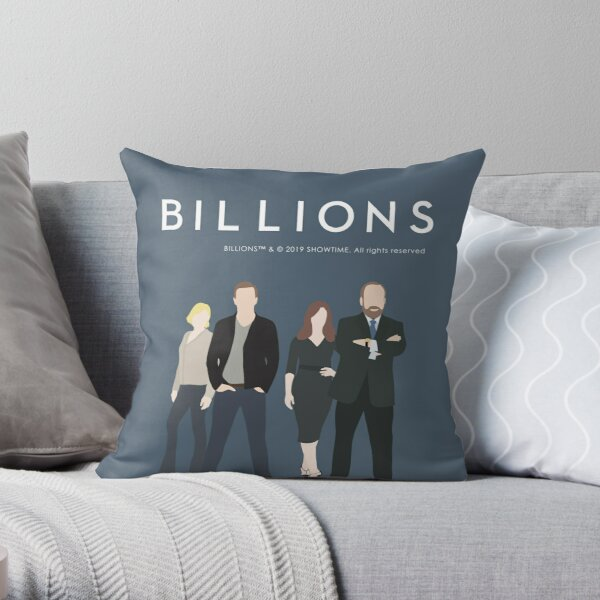 BILLIONS Throw Pillow