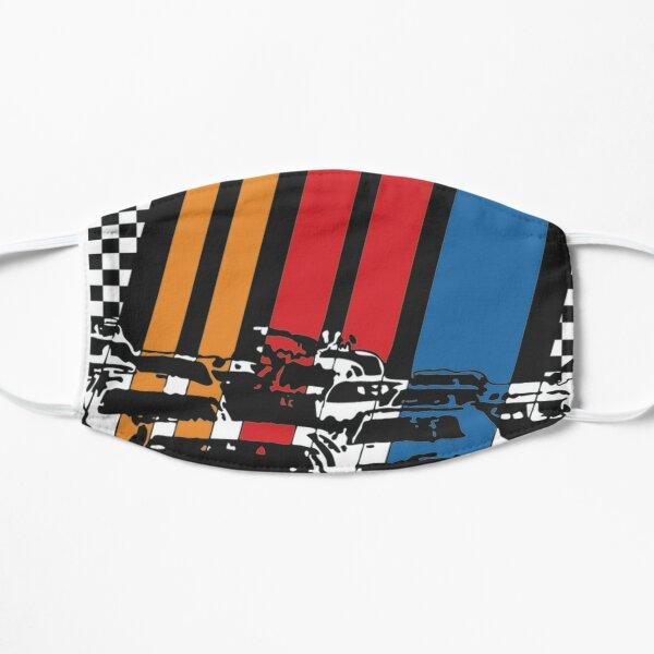 We Love Nascar Flat Mask