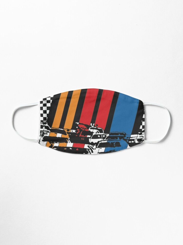 Alternative Ansicht von We Love Nascar Maske