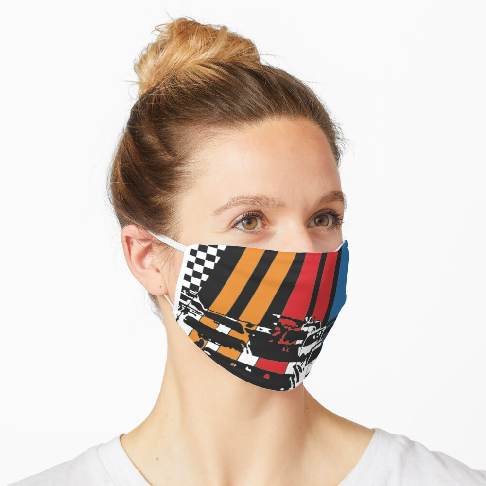 We Love Nascar Maske