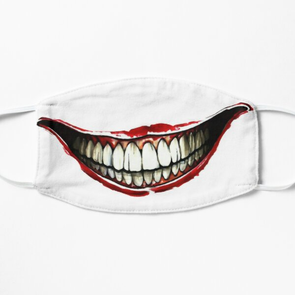 Sonrisa joker Mascarilla plana