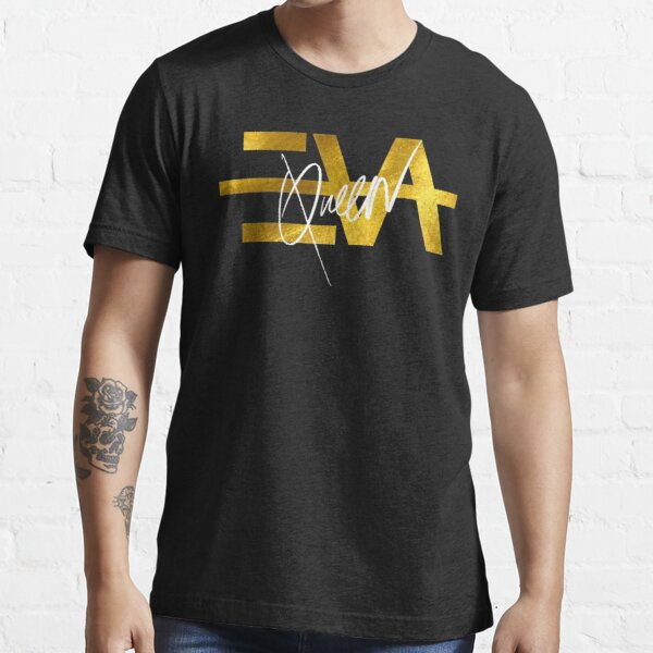 EVA QUEEN LOGO GOLD T-shirt essentiel