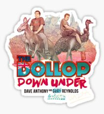 The Dollop - Down Under  (Australia variant) Sticker
