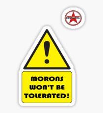 GeekGirl - Morons Sticker