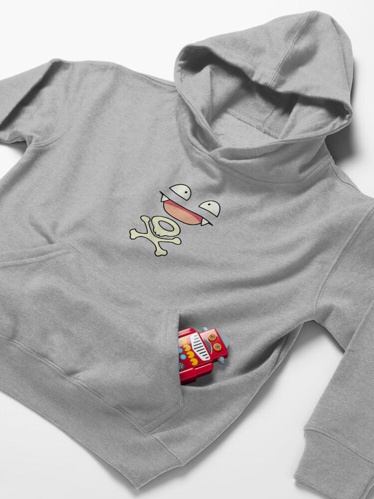 Vista alternativa de Sudadera con capucha para niños Tóxico