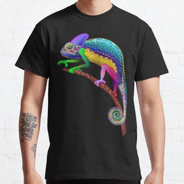 Chameleon Fantasy Rainbow Colors Classic T-Shirt