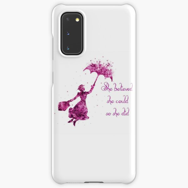 She believed she could so she did Samsung Galaxy Snap Case